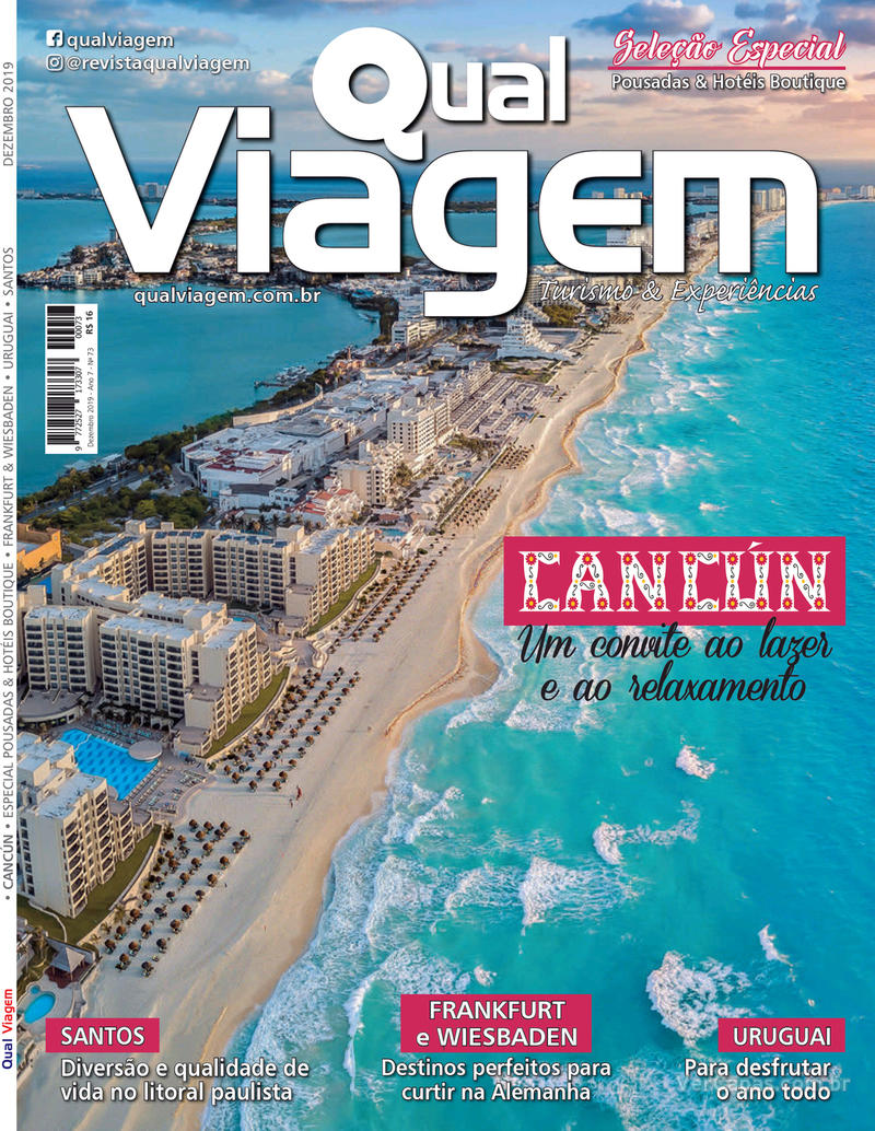 Capa da revista Qual Viagem 05/12/2019