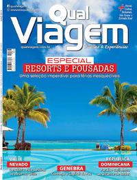 Capa da revista Qual Viagem 05/05/2019
