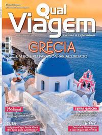 Capa da revista Qual Viagem 05/08/2019
