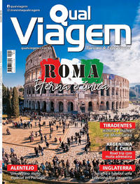 Capa da revista Qual Viagem 11/07/2019