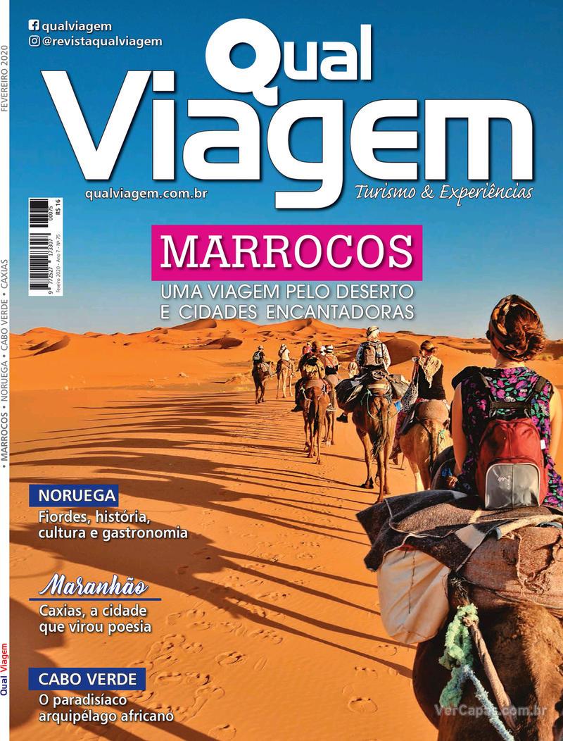 Capa da revista Qual Viagem 05/02/2020