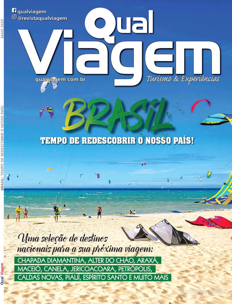 Capa da revista Qual Viagem 05/05/2020