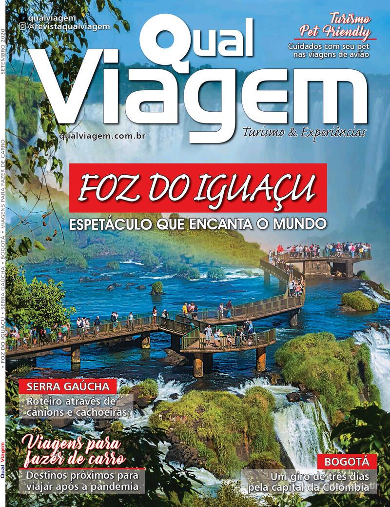 Capa da revista Qual Viagem 05/09/2020
