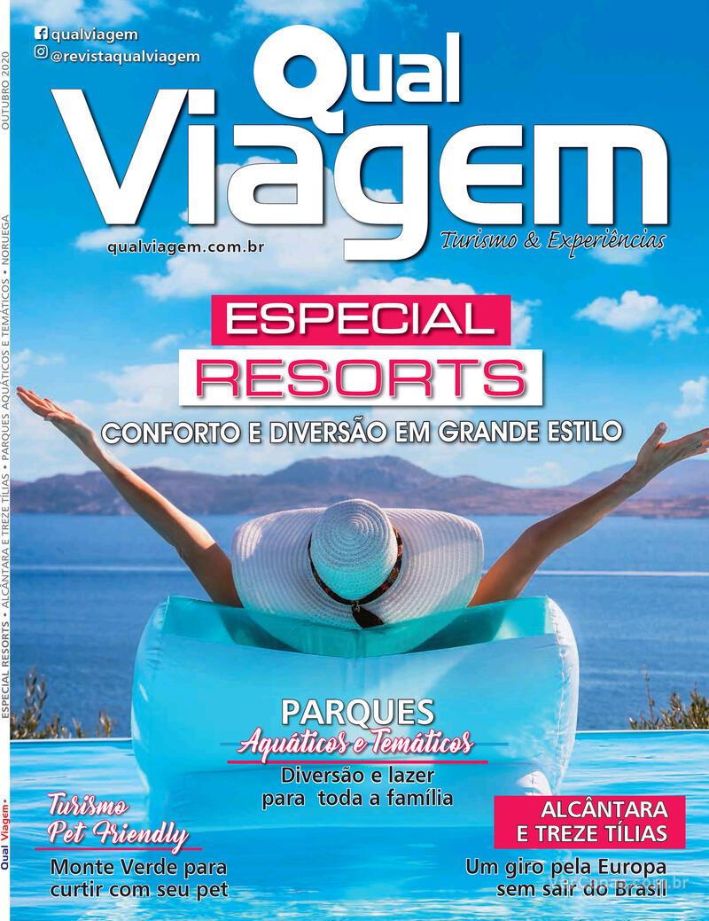 Capa da revista Qual Viagem 05/10/2020