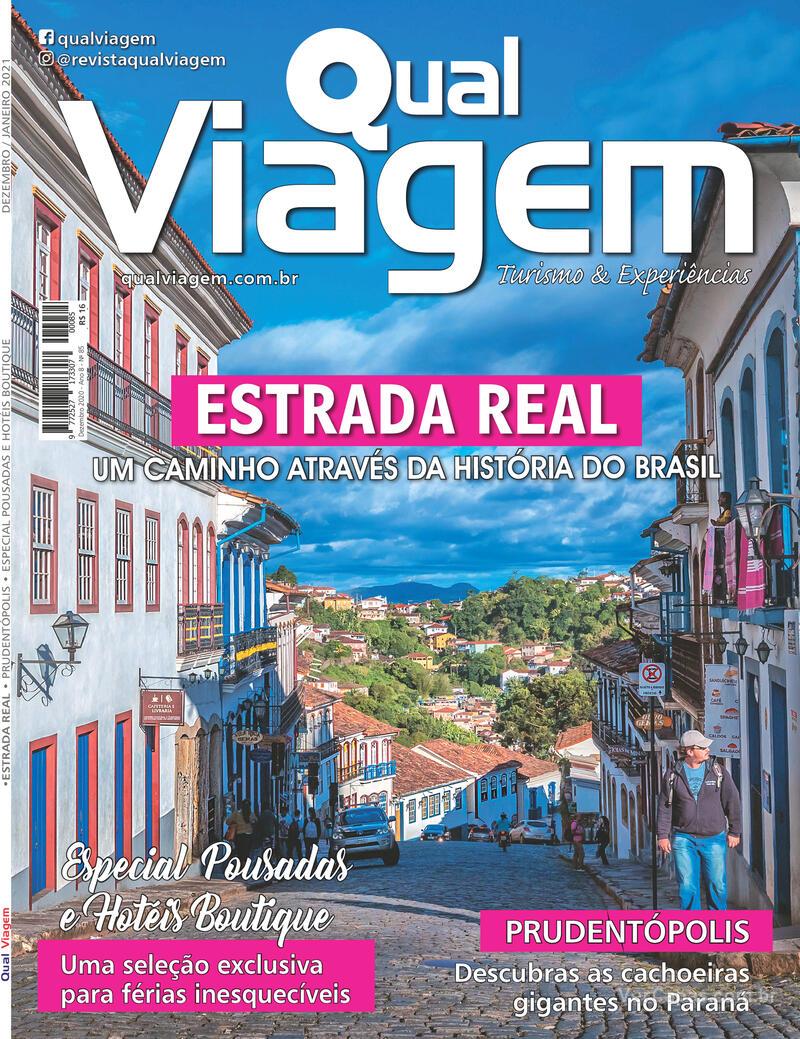 Capa da revista Qual Viagem 05/12/2020