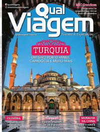 Capa da revista Qual Viagem 05/01/2020