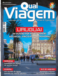 Capa da revista Qual Viagem 09/11/2020