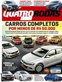 Capa Quatro Rodas 2018-05-01