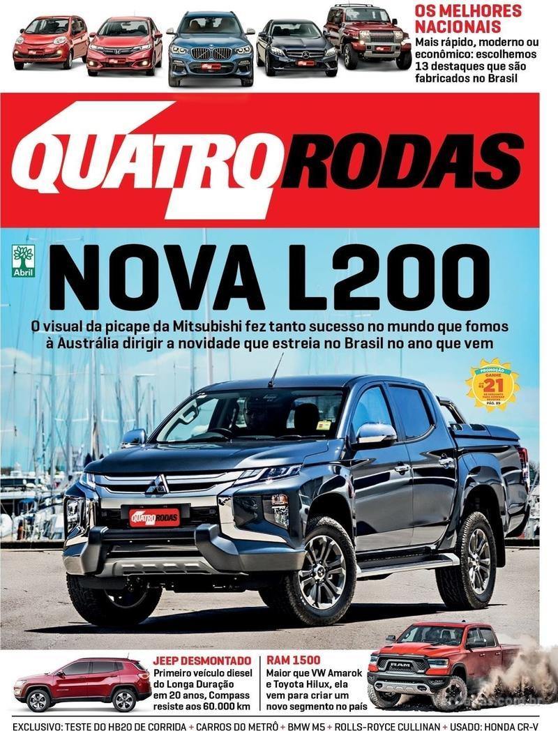 Capa Quatro Rodas 2019-02-01
