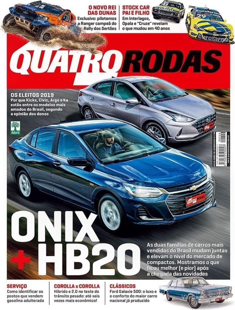 Capa revista Quatro Rodas 01/10/2019