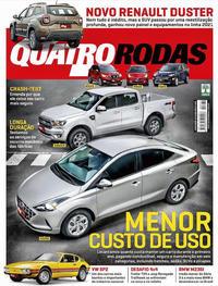 Capa da revista Quatro Rodas 01/03/2020