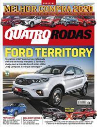 Capa da revista Quatro Rodas 01/08/2020