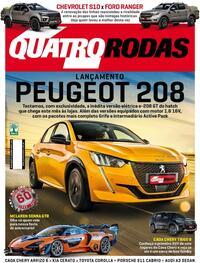 Capa da revista Quatro Rodas 01/09/2020