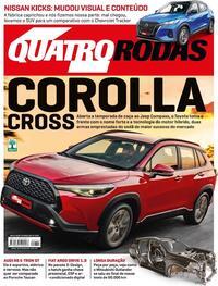 Capa da revista Quatro Rodas 01/04/2021