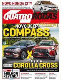 Capa da revista Quatro Rodas 01/06/2021