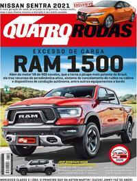Capa da revista Quatro Rodas 01/12/2020