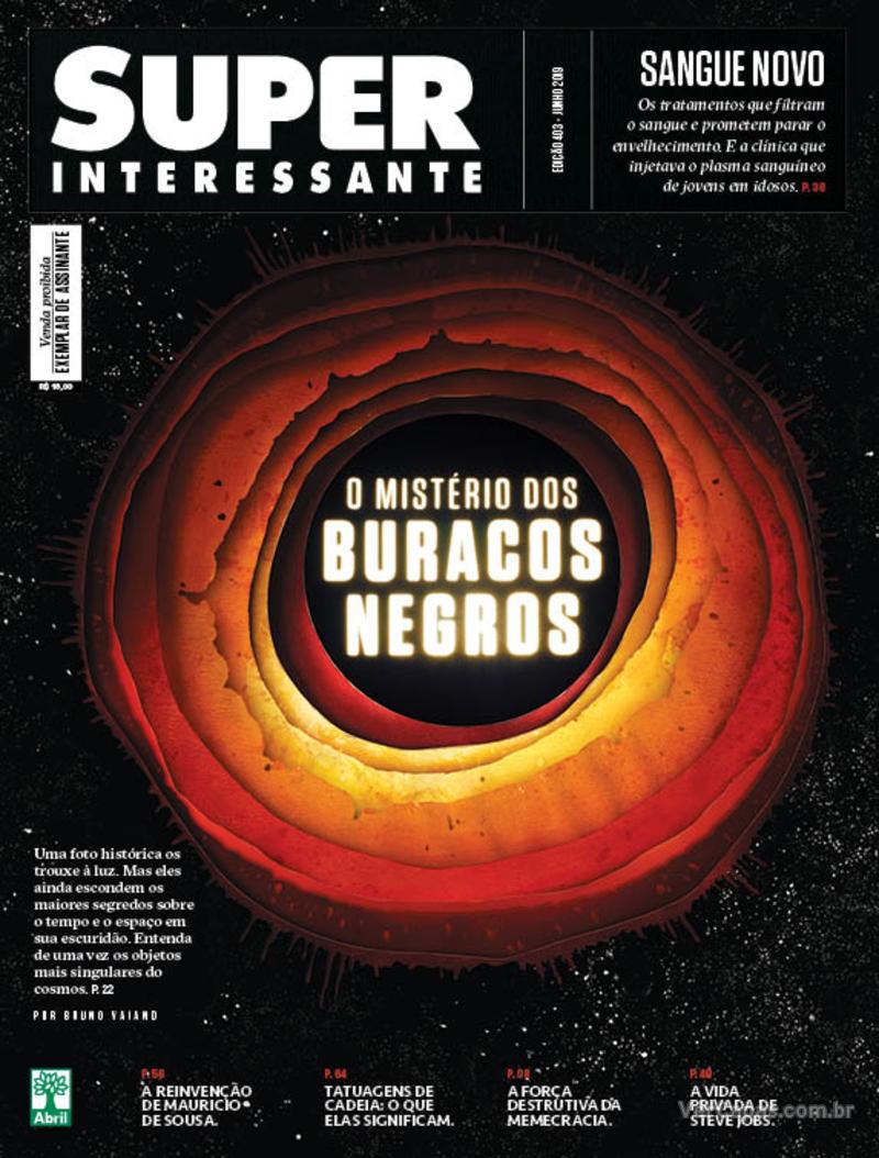 Capa revista Super Interessante 01/06/2019