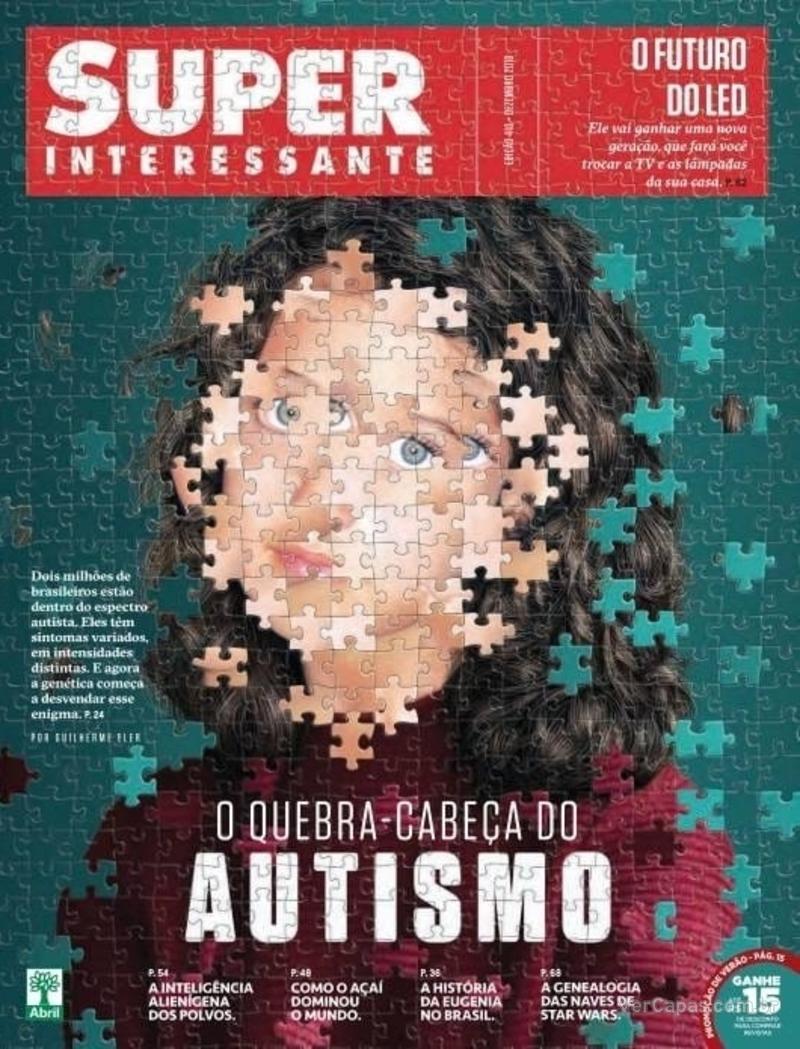 Capa revista Super Interessante 27/11/2019