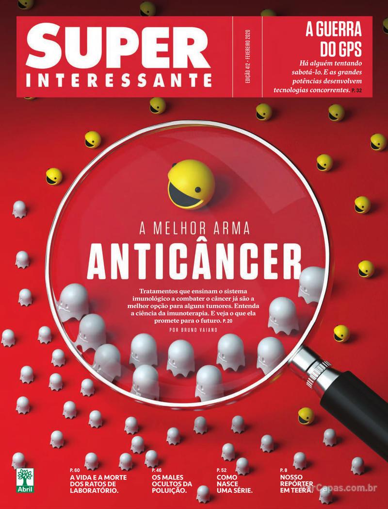 Capa revista Super Interessante 01/02/2020