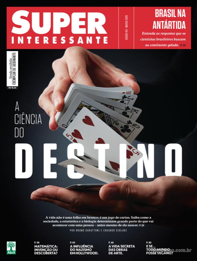 Capa da revista Super Interessante 01/03/2020
