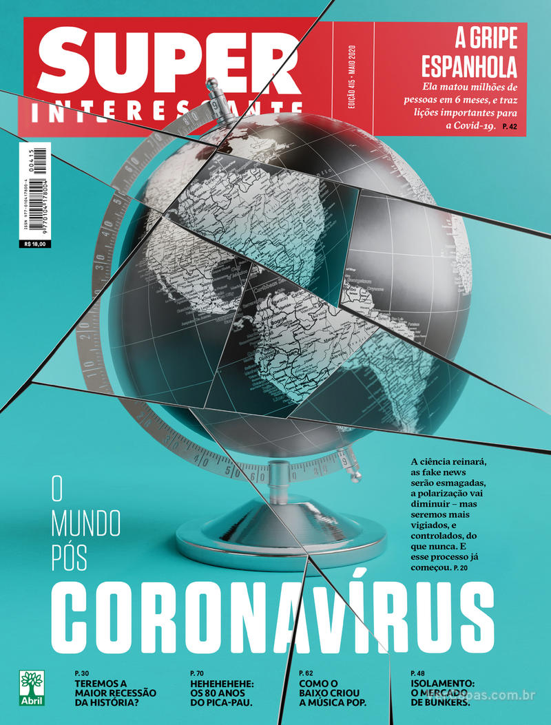 Capa da revista Super Interessante 01/05/2020