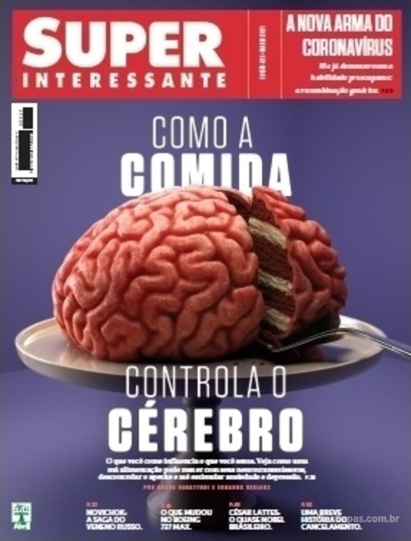 Capa da revista Super Interessante 01/04/2021
