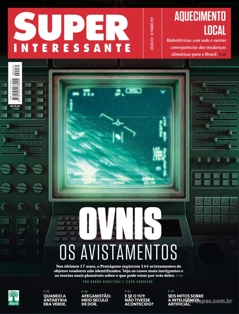 Capa da revista Super Interessante 01/09/2021