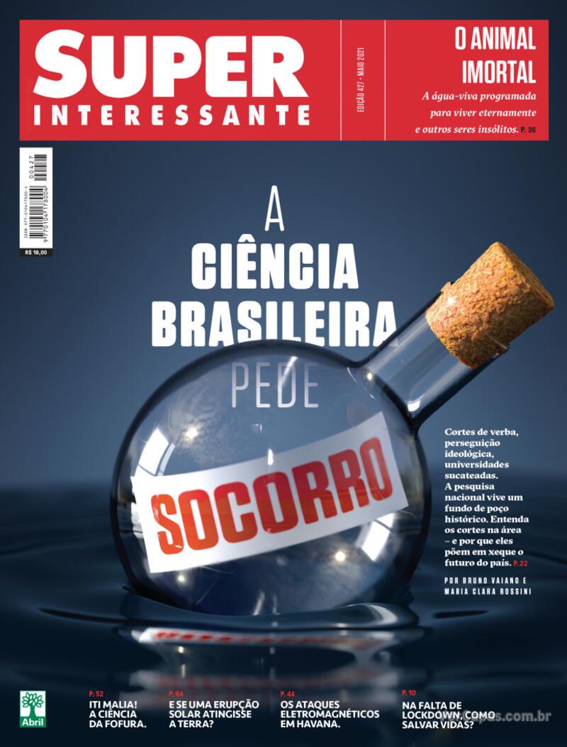Capa da revista Super Interessante 31/05/2021