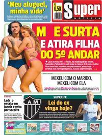 Capa Jornal Super Notícia 25/05/2019