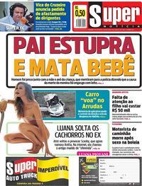 Capa Jornal Super Notícia