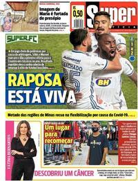 Capa do jornal Super Notícia 03/12/2020