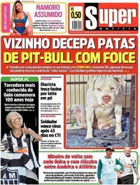 Capa do jornal Super Notícia 08/07/2020