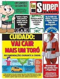 Capa do jornal Super Notícia 24/10/2020