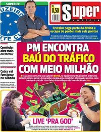 Capa do jornal Super Notícia 29/05/2020