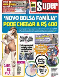 Capa do jornal Super Notícia 03/08/2021