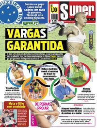 Capa do jornal Super Notícia 05/08/2021