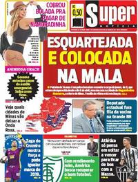 Capa do jornal Super Notícia 16/04/2021