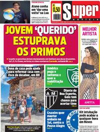 Capa do jornal Super Notícia 17/04/2021