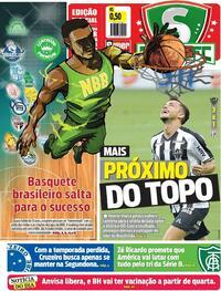 Capa do jornal Super Notícia 18/01/2021