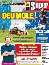 Capa do jornal Super Notícia 21/01/2021