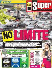 Capa do jornal Super Notícia 27/02/2021