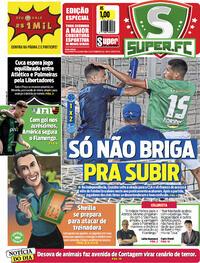 Capa do jornal Super Notícia 27/09/2021