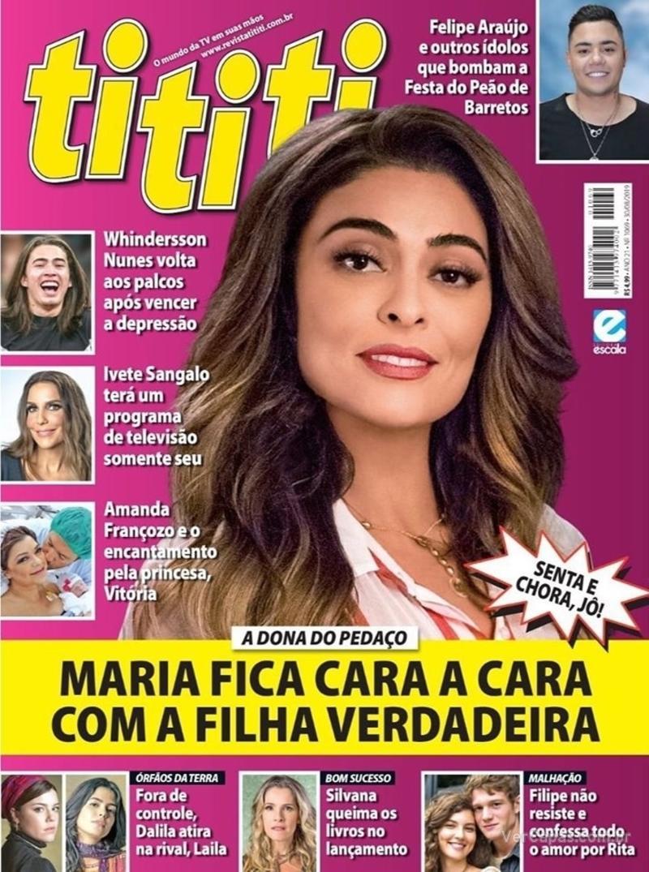 Capa revista Tititi 21/08/2019