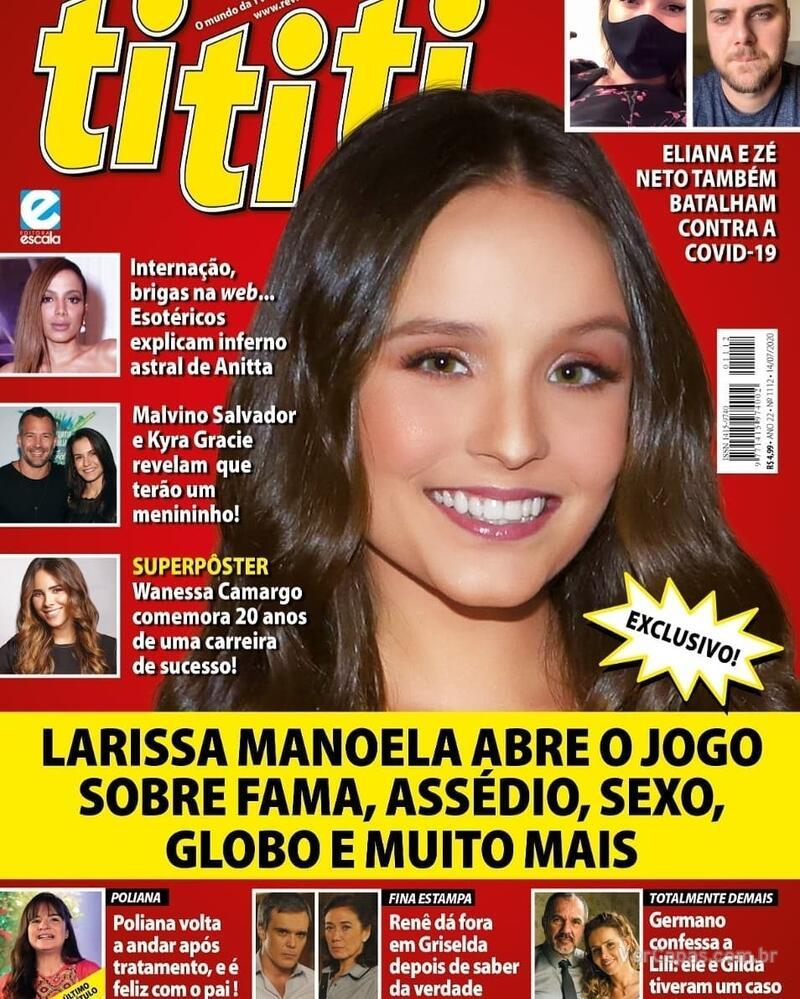 Capa da revista Tititi 01/07/2020