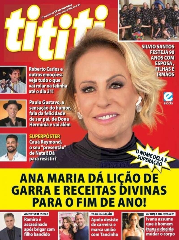 Capa da revista Tititi 16/12/2020