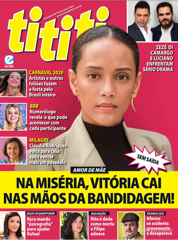 Capa revista Tititi 19/02/2020