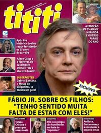 Capa da revista Tititi 12/08/2020