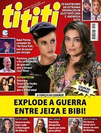 Capa da revista Tititi 14/10/2020