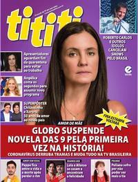 Capa da revista Tititi 18/03/2020
