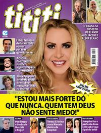 Capa da revista Tititi 20/05/2020